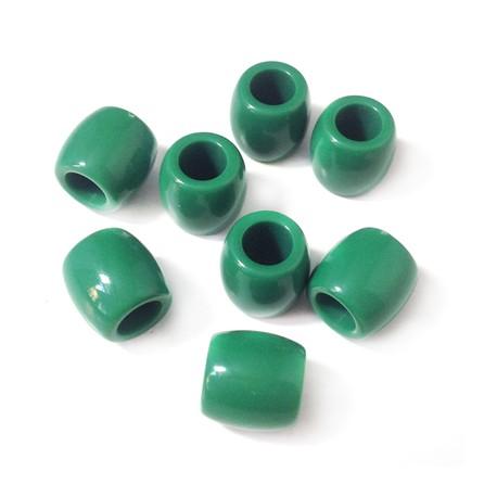 Ακρυλική Χάντρα Οβάλ 11mm (Ø6mm)