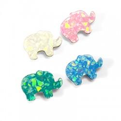 Art. Opalium Slider Elephant 11x16mm