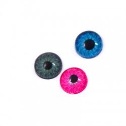 Acrylic Cabouchon Eye 8mm
