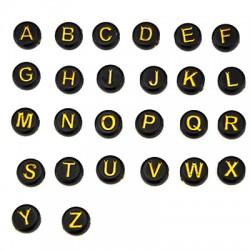 Ακρυλικό Στρογγυλό Περαστό Γράμματα 7mm/4mm (Ø2mm) (430τμχ)