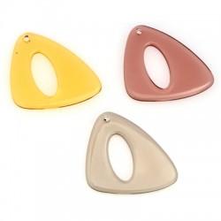 Ακρυλικό Μοτίφ Τρίγωνο Ακανόνιστο 35x37mm