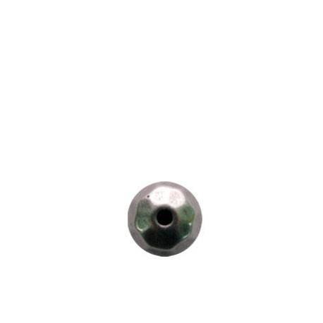 Perlina Sfaccettata in Argentone CCB 12mm