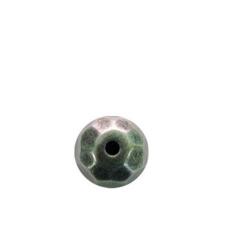 Perlina Sfaccettata in Argentone CCB 20mm
