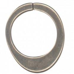 Anello di Catena Aperto in Argentone CCB 30x36mm