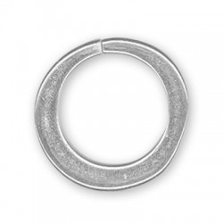 Anello di Catena Aperto in Argentone CCB 33x32mm