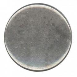 Ακρυλική Επιμεταλλωμένη Χάντρα Στρογγυλή Πλακέ 31.5mm