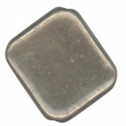 Passante Rombo in Argentone CCB 21.5x25mm