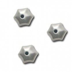 Ακρυλική Επιμεταλλωμένη Χάντρα Ακανόνιστη 12x13mm