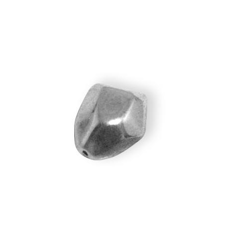 Ακρυλική Επιμεταλλωμένη Χάντρα Ακανόνιστη 14x18mm