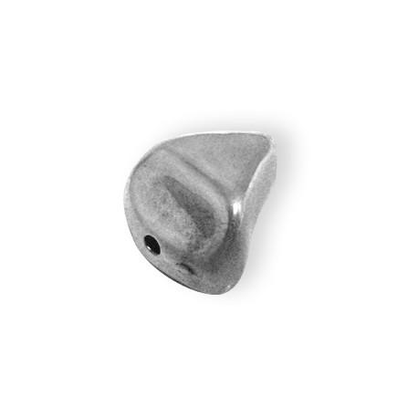 Ακρυλική Επιμεταλλωμένη Χάντρα Ακανόνιστη 17x22mm