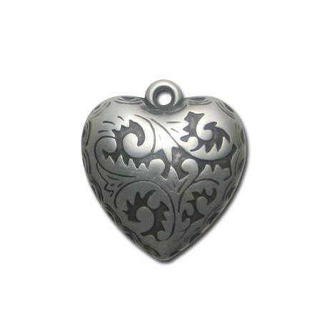 Ακρυλικό Επιμεταλλωμένο Μοτίφ Καρδιά 40mm