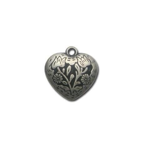 Ακρυλικό Επιμεταλλωμένο Μοτίφ Καρδιά 30mm