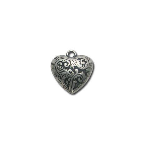 Ακρυλικό Επιμεταλλωμένο Μοτίφ Καρδιά 25mm