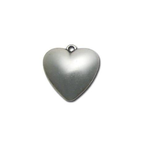 Ακρυλικό Επιμεταλλωμένο Μοτίφ Καρδιά 32mm