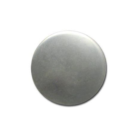 Ακρυλική Επιμεταλλωμένη Χάντρα Στρογγυλή Πλακέ 41.5mm