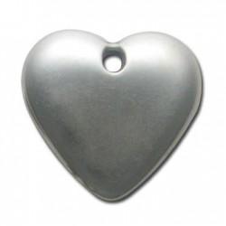 Ακρυλικό Επιμεταλλωμένο Μοτίφ Καρδιά 42x47mm