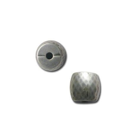 Ακρυλική Επιμεταλλωμένη Χάντρα Σωλήνας 15mm