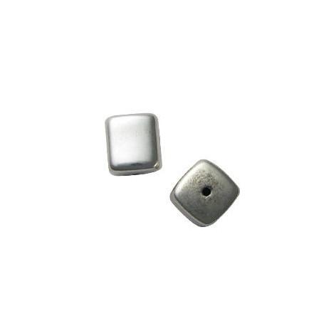 Ακρυλική Επιμεταλλωμένη Χάντρα Κύβος 15mm