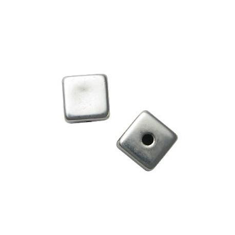 Ακρυλική Επιμεταλλωμένη Χάντρα Κύβος 16mm