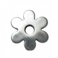 Ακρυλικό Επιμεταλλωμένο Στοιχείο Λουλούδι 44mm