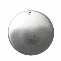 Ciondolo Rotondo in Argentone CCB 54mm