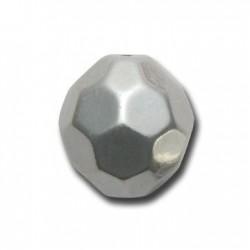 Perlina Sfaccettata in Argentone CCB 30mm