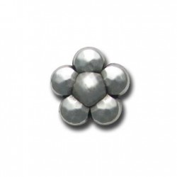 Ccb  Flower Faceted20x20mm