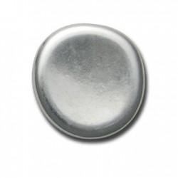 Ακρυλική Επιμεταλλωμένη Χάντρα Στρογγυλή Πλακέ 37mm