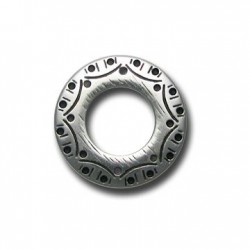 Ccb  Carved Ring 32x21mm