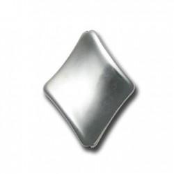 Ακρυλικό Επιμεταλλωμένο Στοιχείο Ρόμβος Περαστός 29x37mm