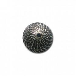 Ακρυλική Επιμεταλλωμένη Χάντρα με Δίχτυ 16mm