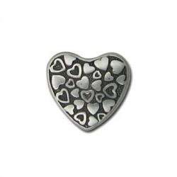 Ccb  Heart 22x21x6.5mm