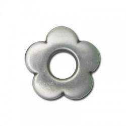 Passante Ciondolo Fiore in Argentone CCB 31mm