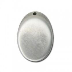 Passante Ovale in Argentone CCB 27x38x7mm