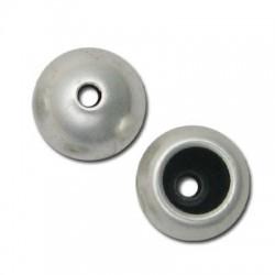 Perlina Terminale Capocorda in Argentone CCB 15x14mm