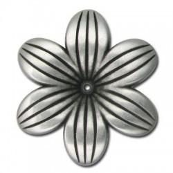 Passante Fiore in Argentone CCB 48x7mm