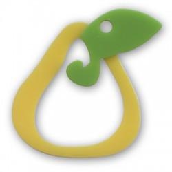 Ciondolo Pera in Plexi Acrilico 60mm