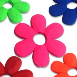 Ακρυλικό Στοιχείο Λουλούδι Περαστό Εφέ Καουτσούκ 33mm