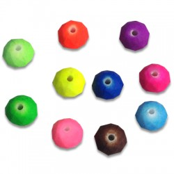 Acrylic Rubber effect Ball 8 / 5,3mm