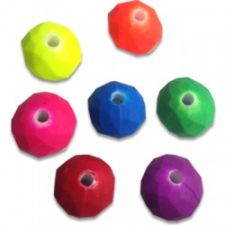 Acrylic Rubber effect Ball 12 / 8mm