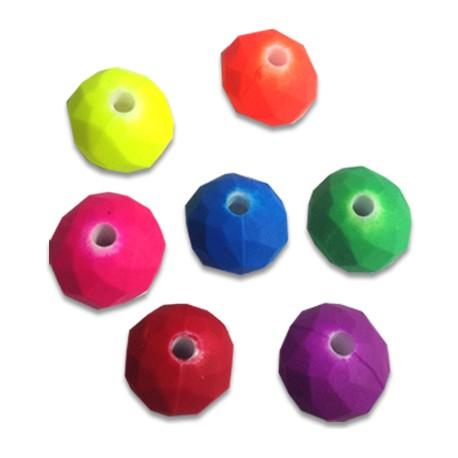 Acrylic Rubber effect Ball 12 / 8mm