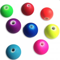 Acrylic Rubber effect Ball 10mm