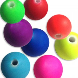 Acrylic Rubber effect Ball 14mm