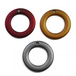 Acrylic Rubber Effect Ring 40mm (Ø 3mm)