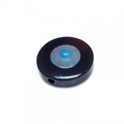 Polyester Bead Round Eye 24mm