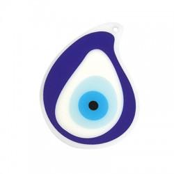 Plexi Acrylic Pendant Eye 85x62mm