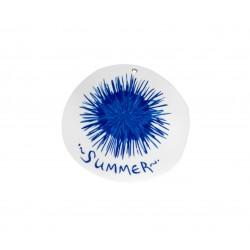 """Πλέξι Ακρυλικό Μοτίφ Στρογγυλό Αχινός """"Summer"""" 60mm"""