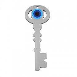 Plexi Acrylic Pendant Lucky Key Eye 27x70mm