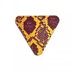 Πλέξι Ακρυλικό Μοτίφ Τρίγωνο 50x45mm