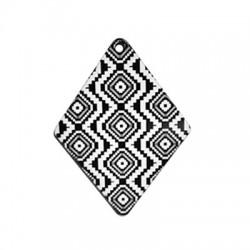 Plexi Acrylic Pendant Rhombus 42x55mm